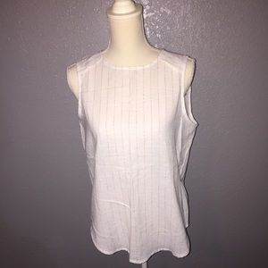 Bohme top.  Ivory. Size small